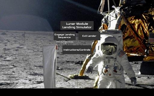 Lunar Module Landing Simulator - screenshot
