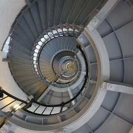 light house stairway by Jon Radtke - Buildings & Architecture Statues & Monuments ( light house stairway )