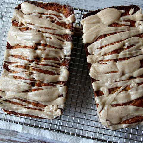 Spiced Pear Cake with Browned Butter Icing