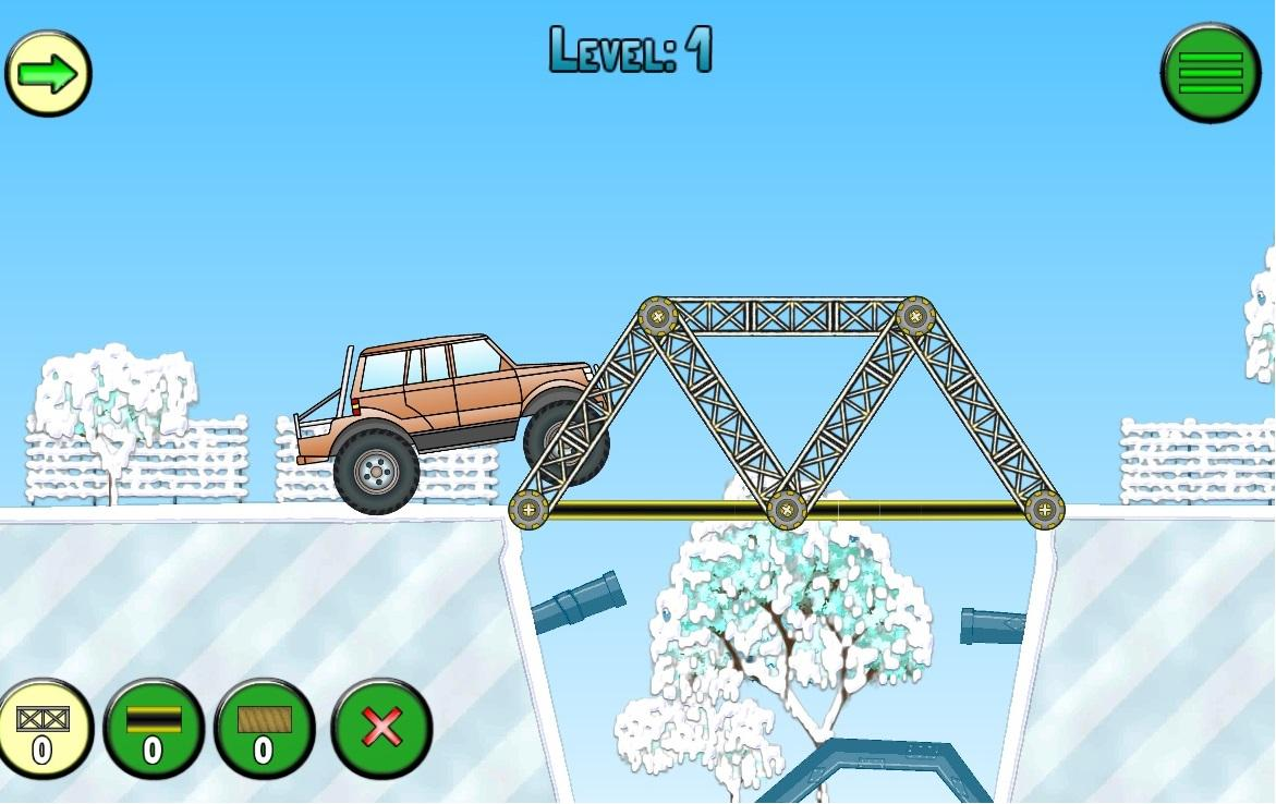 Frozen bridges (Free) Screenshot 1