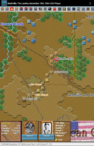 Civil War Battles - Franklin - screenshot