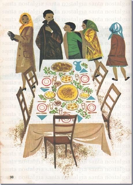 livro de leitura da primeira classe ceia de natal