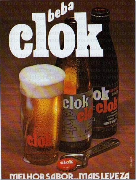 santa nostalgia publicidade cerveja clok