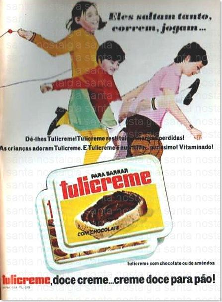 santa nostalgia publicidade tulicreme