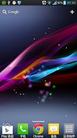 Screenshot of Xperia Z Ultra Live Wallpaper