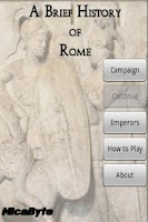 Screenshot of A Brief History of Rome
