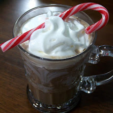 Hot Chocolate With Peppermint Schnapps