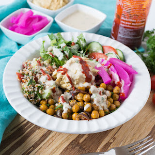 Decontructed Falafel Bowl
