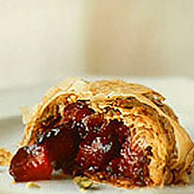 Roasted Plum Strudel