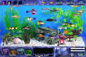 Screenshot of Fish Tycoon