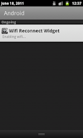 Screenshot of Wifi Reconnect Widget