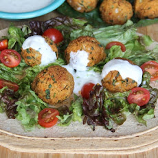 Figure-Friendly Baked Falafel