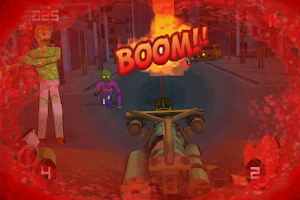 Screenshot of Minigun vs Zombies