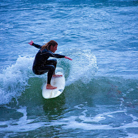 On top of the wave by Brent Morris - Sports & Fitness Surfing