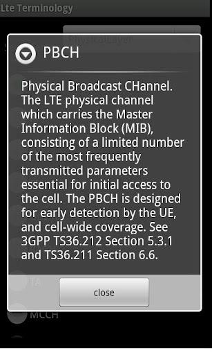 4G-LTE Terminology