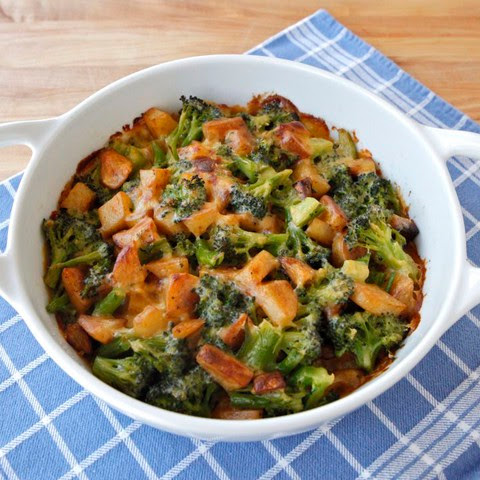 Broccoli Idaho® Potato Gratin