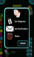 Screenshot of Baby Sounds & Ringtones