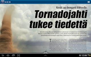 Screenshot of Tieteen Kuvalehti