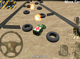 Screenshot of Army parking 3D - Parking game