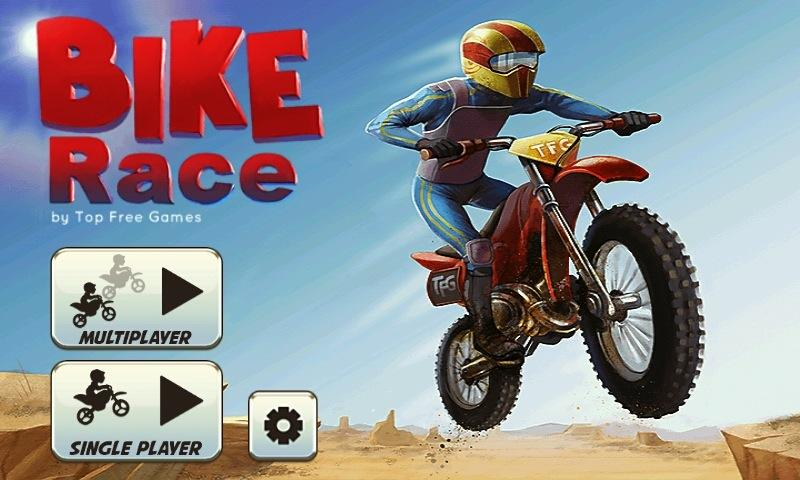Bike Race Pro by T. F. Games Screenshot 0