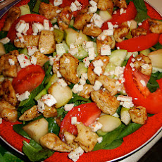 Thai Style Pear & Chicken Salad