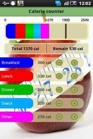 Daily Calorie Counter