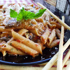 Low Fat Penne a La Vodka