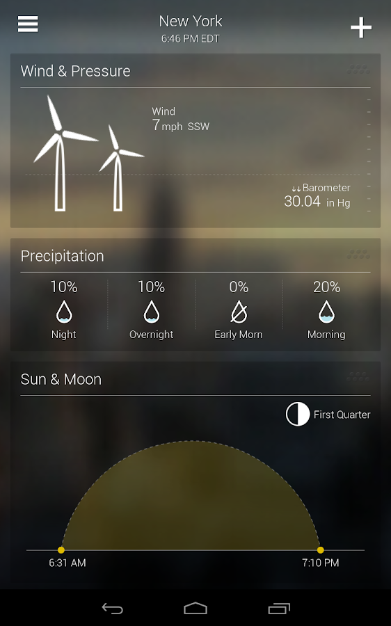 Yahoo Weather Screenshot 13
