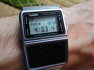 Casio Data Bank データバンク DBC-610 telememo schedule