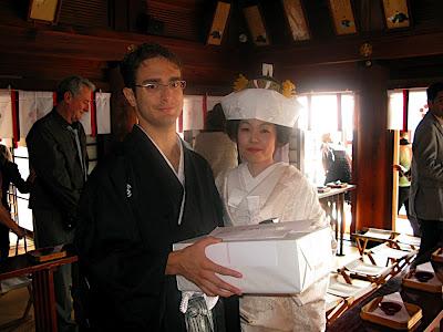 ceremonia boda sintoísta ale ai Hofu Tenmangu Yamaguchi 神社 挙式 防府天満宮 防府 山口 shinto wedding ceremony