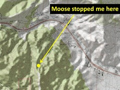 Moose Back Down Map