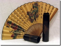 Chinese_Hand_Fan_With_Antique_like_Box_Gift