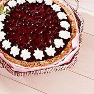 Huckleberry Cheese Pie