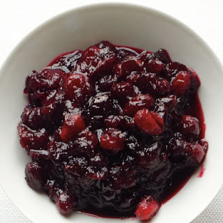 Sweet-and-Spicy Cranberry Sauce