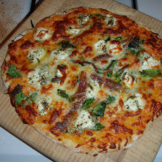 Pizza With Butternut Squash Sauce