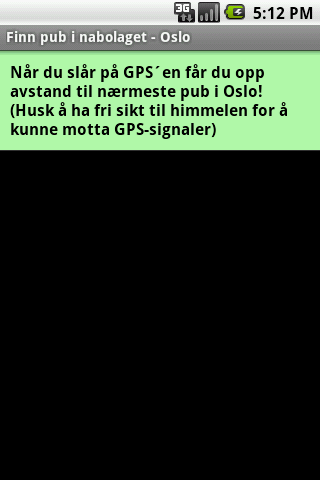 Find pubs - Oslo