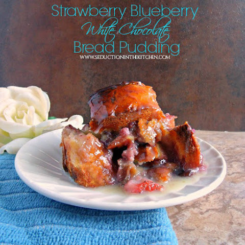 White Chocolate Pudding Strawberries | Bread Pudding, Rice Pudding ...