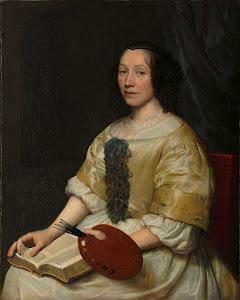 RIJKS: Wallerant Vaillant: painting 1671