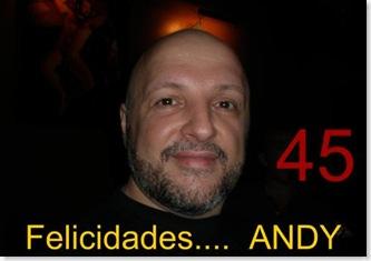 Felicidades Andy 45