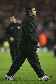 Good loser? Jose Mourinho