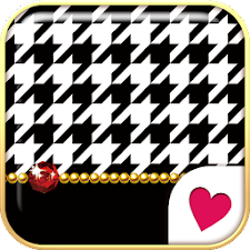 Cute wallpaper★Houndstooth
