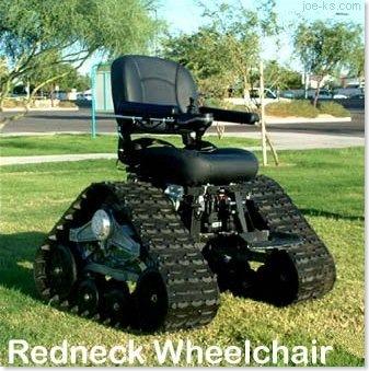 RedneckWheelchair