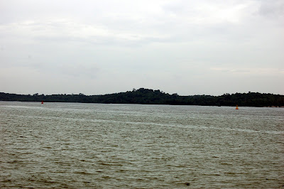 Pulau Ubin from Changi Beach