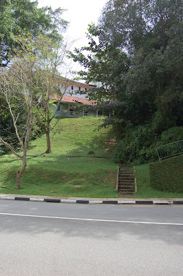 Steps to former RAF Changi Hospital