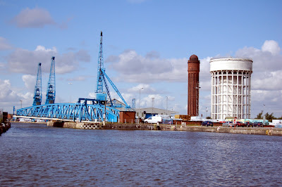 Water Towers and Swing Bridge