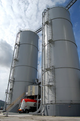 Tanker Loading at Silo