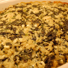 Dilled Spinach Rice