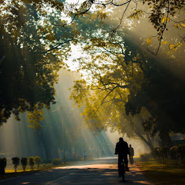 City morning walk by Rahul Kumar - City,  Street & Park  Street Scenes (  )