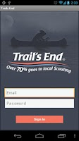 Screenshot of Trail's End Sales