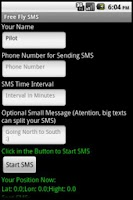 Screenshot of Free Fly SMS